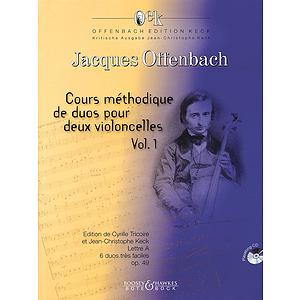 Cours Méthodique de dous pour deux violoncelles - Volume 1