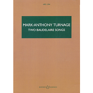 Two Baudelaire Songs