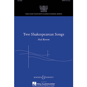 Two Shakespearean Songs