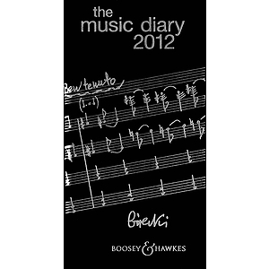 The Boosey & Hawkes Music Diary 2012