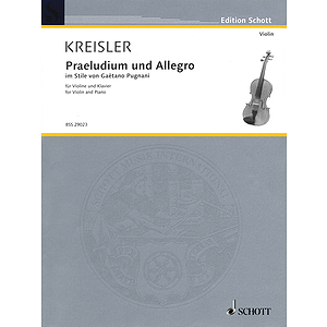 Praeludium and Allegro