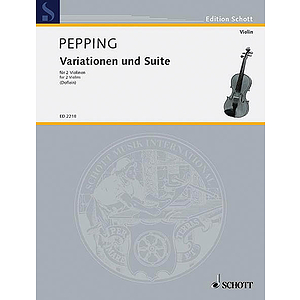 Variations/Suite for 2 Violins