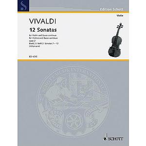12 Sonatas, Op. 2 - Book 2