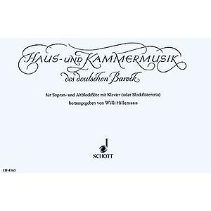 Haus und Kammermusik des deutschen Barock