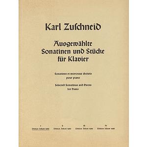 Ausgewählte Sonatinen und Stücke für Klavier