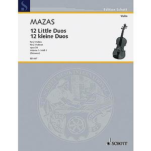 Duos Op. 38 - Book 1