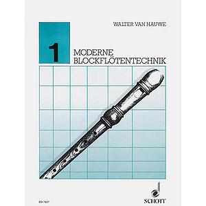 Moderne Blockfloetentechnik V. 1**