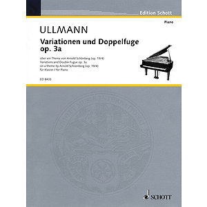 Variations and Double Fugue, Op. 3a