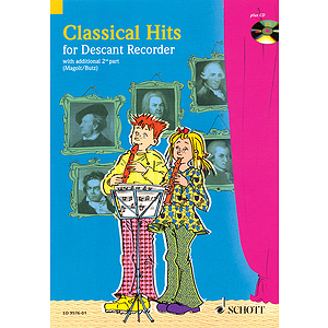 Classical Hits for 1-2 Descant Recorders