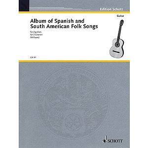 Album of Spanish and South American Folk Songs