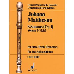 8 Sonatas, Op. 1, Volume 1