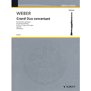 Grand Duo Concertante in E-flat Major, Op. 48