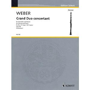 Grand Duo Concertante in E-flat Major, Op. 48