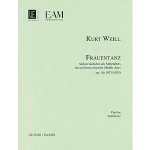 Frauentanz, Op. 10