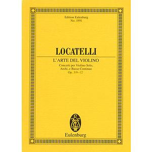 L'Arte del Violino Op. 3, Nos. 9-12
