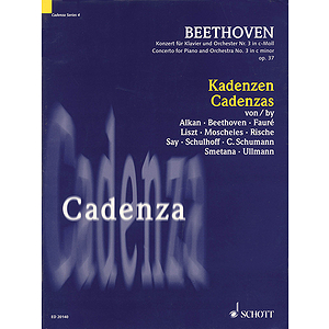 Cadenzas to Beethoven's Concerto for Piano and Orchestra No. 3, op. 37