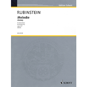 Melodie for String Trio Op. 3, No. 1