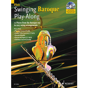 Swinging Baroque Play-Along for Flute