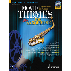 Movie Themes for Alto Saxophone