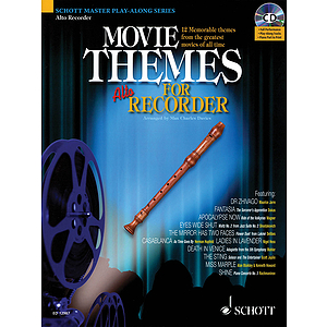 Movie Themes for Alto Recorder