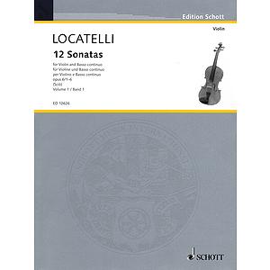 12 Sonatas, Op. 6