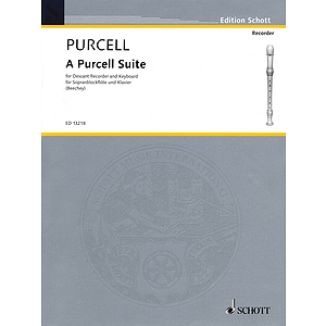 A Purcell Suite: Seven (7) Pieces For Descant Recorder And Keyboard
