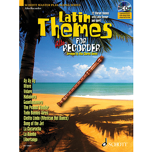 Latin Themes for Alto Recorder