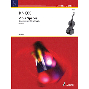 Viola Spaces - Contemporary Viola Studies, Volume 1