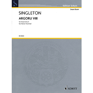 Argoru Viii For Percussion