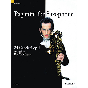 Paganini for Saxophone