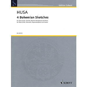 4 Bohemian Sketches