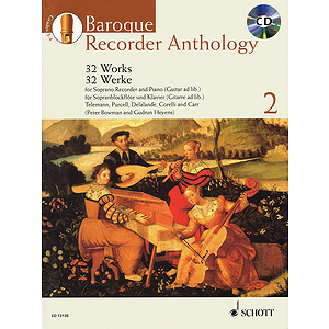 Baroque Recorder Anthology - Volume 2