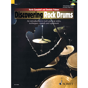 Discovering Rock Drums Bk/cd