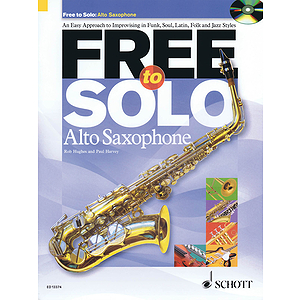 Free To Solo For Alto Saxophone Book/cd