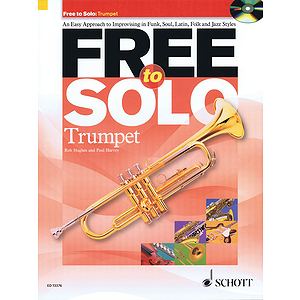 Free To Solo For Trumpet Book/cd