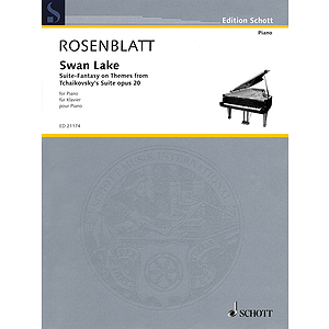 Swan Lake Op.20 Suite-fantasy On Themes From Tchaikovsky's Suite For Piano