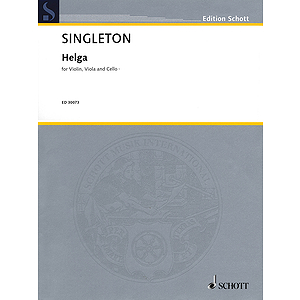 Helga - Violin, Viola, And Cello Score And Parts