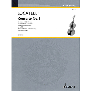 Concerto No. 3 for Violin and Orchestra, Op. 3