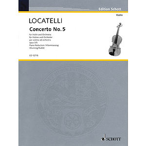 Concerto No. 5 for Violin and Orchestra, Op. 3