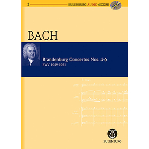 Brandenburg Concertos 4-6 BWV 1049/1050/1051