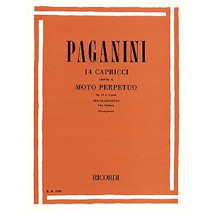 14 Capriccos, Op. 11, No. 6 (Moto Perpetuo)