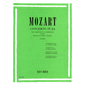 Concerto in A Major for Clarinet and Orchestra, Op. 107, K622