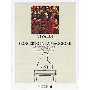 Concerto in F Major for Flute Strings and Basso Continuo La tempesta di more Op.10 No.1, RV433