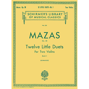 12 Little Duets, Op. 38 - Book 1