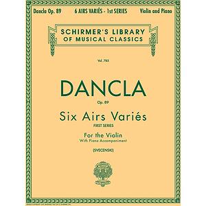 6 Airs Variés, Op. 89