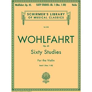 Wohlfahrt - 60 Studies, Op. 45 - Book 1