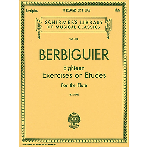Benoit Berbiguier:¦Eighteen Exercises or Etudes