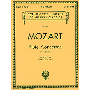 Concerto No. 1 in G Major, K. 313/Concerto No. 2 in D Major, K. 314