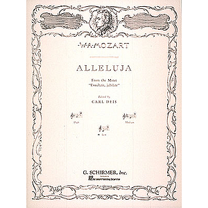 Alleluia (from Exsultate, jubilate)
