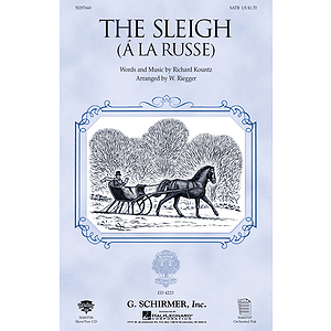 The Sleigh (A La Russe)